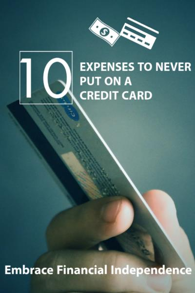 Achieve Financial Independence by controlling your credit card habits first. Wax on, wax off!