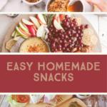 Homemade Snacks - Delicious, Nutritious and Save Money